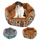 48cm Pet Dog Cat Bed Soft Cushion Winter Warm Kennel Mat Pad Blanket Gift