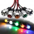 12V 19mm LED Indicator Warning Light Pilot Panel Dash Lamp Car Boat Signal Light