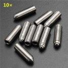 10Pcs M8 Stainless Steel Hex Socket Cap Screws Spring-Head Screws