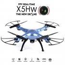 Syma X5HW WIFI FPV With HD Camera Altitude Mode 2.4G 4CH 6Axis RC Drone Quadcopt