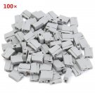 100pcs 14-12AWG Insulation Nylon Spring Terminal Press Quick Wire Connector