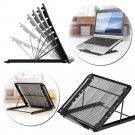 Multifunctional Mesh Ventilated Adjustable Desktop Laptop Stand Radiator Tablet