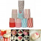 50Pcs Greaseproof Muffin Cup Cake Cups Paper Baking Liners Kitchen AAccessorie.s