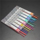 1 Box 6PCs Color Lead Refills Tube 0.7mm With Case For Mechanical Pencils