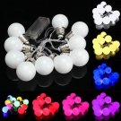 10 LED Battery Mini Festoon Fairy String Light Bulb Christmas Wedding Garden Lam
