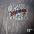 BRAND NEW SAN DIEGO PADRES PENNANT CAR FLAG WITH ORIGINAL PACKAGING