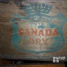 VINTAGE CANADA DRY WOOD CRATE