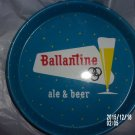 VINTAGE 1960s BALLANTINE ALE & BEER BEER TRAY SING ALONG WITH MITCH COASTERS