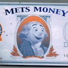 BRAND NEW 2008 FINAL SEASON AT SHEA NEW YORK METS MONEY $1 BILL MR. MET