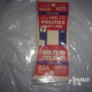 VINTAGE PUT AND TAKE POLITICAL GAME WITH DICE