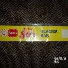 VINTAGE BORDEN ELSIE STIX GLACIER BAR SUPERMARKET / STORE SIGN