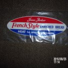 VINTAGE JANE PARKER FRENCH STYLE BREAD BAG WRAPPER 25 CENTS A&P