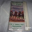 BELMONT PARK JUNE 8, 2007 POCKET PROGRAM BELMONT STAKES EVE