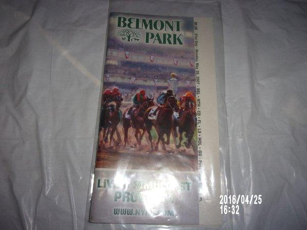 BELMONT PARK MAY 28, 2007 POCKET PROGRAM MET MILE