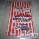 VINTAGE RINGLING BROTHERS BARNUM & BAILEY CIRCUS FRESH ROASTED JUMBO PEANUTS BAG