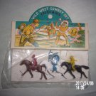 VINTAGE WILD WEST COWBOYS AND INDIANS SET MADE IN HONG KONG