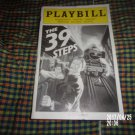 2008 THE 39 STEPS AMERICAN AIRLINES THEATRE PLAYBILL