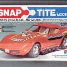 VINTAGE 1979 SNAP TITE MODEL KIT CORVETTE IN ORIGINAL BOX