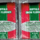 BRAND NEW LOT OF FOUR BUFFALO SNOW FLURRIES IN PACKAGING