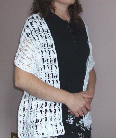 Fan Wrap Crochet Pattern