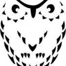 OVAL OWL CROSS STITCH CHART
