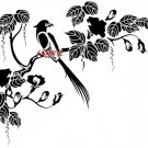 BIRDS & FLOWERS CROSS STITCH CHART
