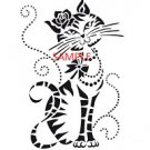 GLAMOUR PUSS CROSS STITCH CHART