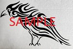 TRIBAL RAVEN CROSS STITCH CHART