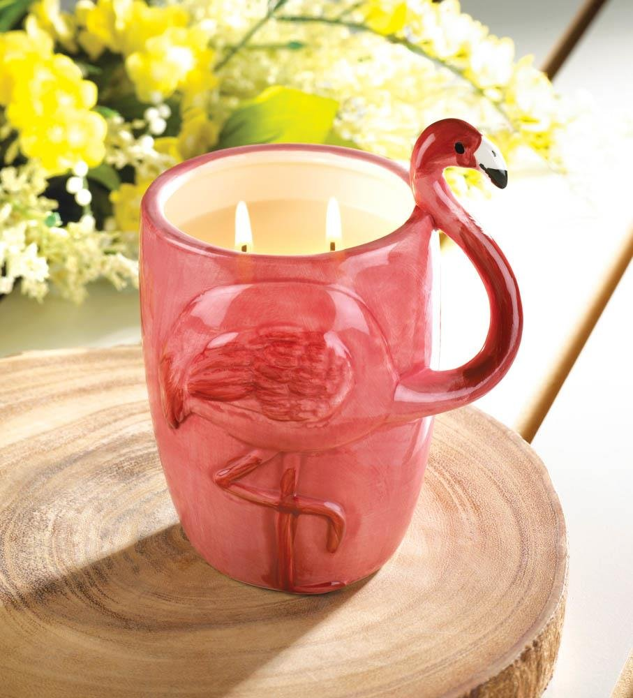 Flamingo Candle Votive Mug
