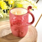 Flamingo Candle Votive Mug