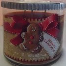 Bath & Body Works Pumpkin Gingerbread Candle 14.5 Ounce 3 Wick 2014 Edition Made with Love