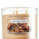 Bath and Body Works Kitchen Spice Candle - Large 3-wick Kitchen Spice Scented Candle