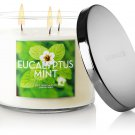 Bath and Body Works Eucalyptus Mint Scented Candle 14.5 oz / 411 g
