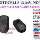 NSEE P5001 12/24V DC/AC Photocell Sensor Through Beam PhotoEye Gate Door Openers