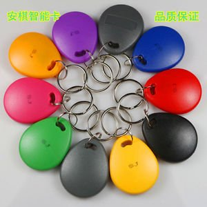 HID 26bits KeyFob Tag Proximity Card Reader ID TK/EM5200 Token Re-Writable/Copy