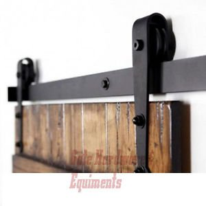 Carbon Steel Interior Cast Iron Gate Sliding Door Hardware Rollers Wall Mount