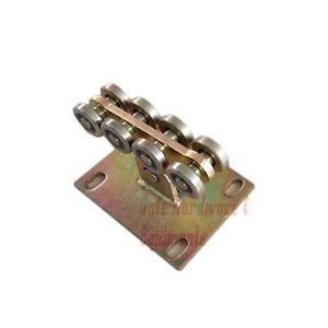 Galvanized Wheel Rolling Gates Sliding Cantilever Gate Roller 8L-A Gold Color