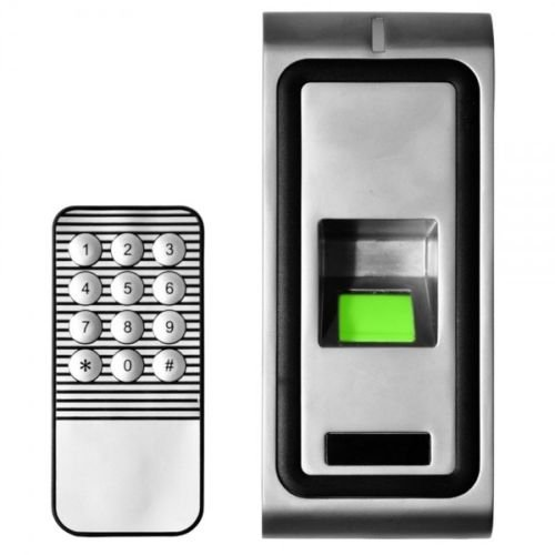 Waterproof Metal Finger Print ID Card Access Wall Remote Control Station Alarm