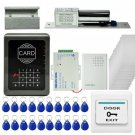 ID Card/Password Access Wall Control Kit Station Door Bell Security Remote Unloc
