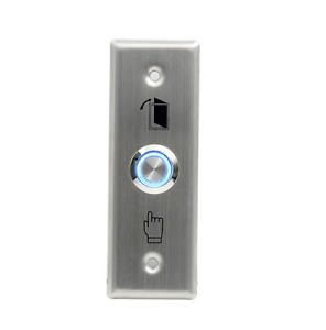 Stainless Steel Lighted Door Push Button Control Station Switch Access Systems