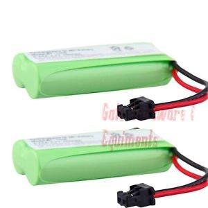 2 Pack Dantona T-T104 Replacement Cordless Battery 2.4V 700maH NIMH (BATT-6010)