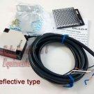 Reflective Infrared Photocell 90/250v PhotoEye Beam Sensor Sliding Gate Operator