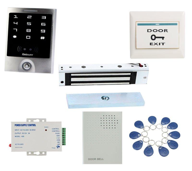 NSEE SKEY-1 Standalone Electric Door Lock Access Control Reader Kit Keypad IP65