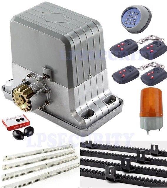 NSEE PY1800-5 1800KG/4000LBS Rack and Pinions Opener Slide Gate Door Operator