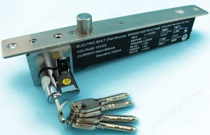 1000KG/2200LB 12/24V Electric Deadbolt Magnetic Door Lock Access Control Fail S.