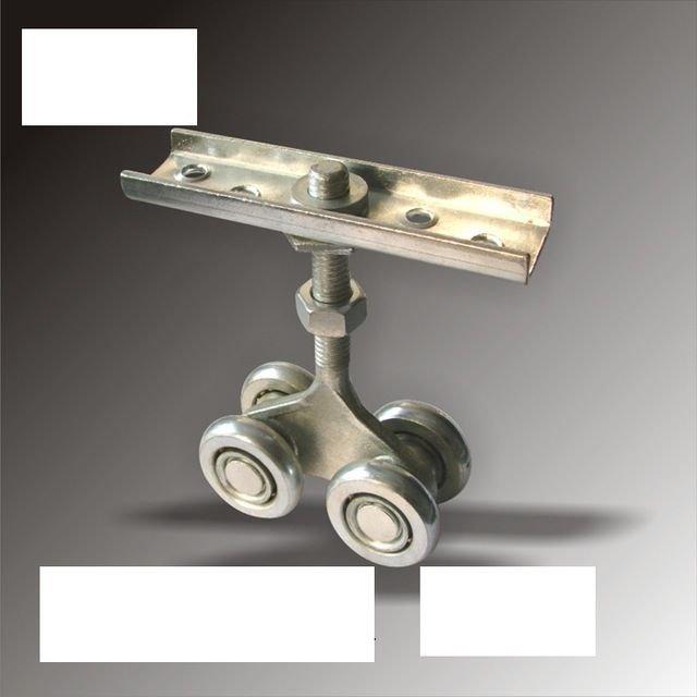 NSEE H2-2 #45 Steel Sliding Gate Door Wheel Roller Industrial Upper Pulley 2Pack