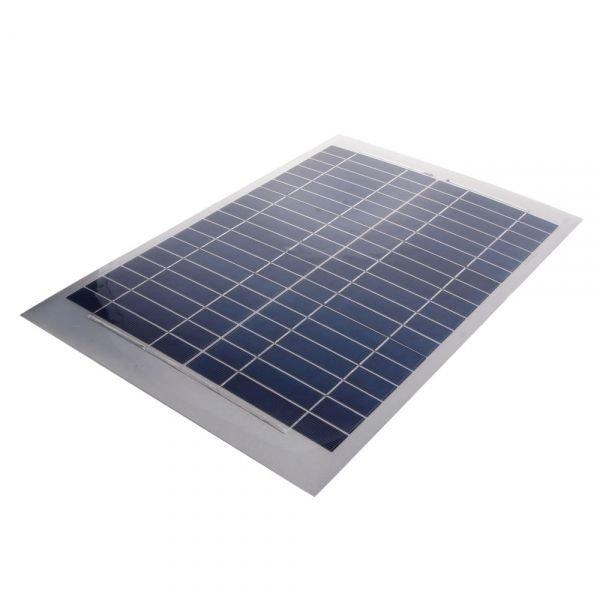 GTO Mighty Mule FM123 10-Watt Solar Panel Electric Gate Door Opener Compatible