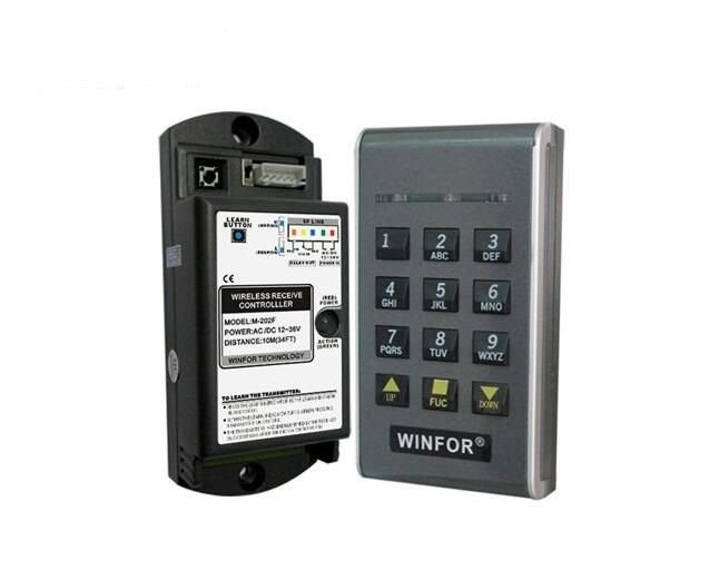 Access Wireless Keypad 315 MHz Entry Gate Opener Garage Door Operator Dip Switch