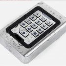 EMX CR-2000 12V DC Wiegand RFID Waterproof Card Reader Metal Keypad Backlit Keys