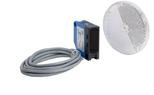 EMX 50ft 12/240V Retro Reflective Photocell Photoelectric Sensor Beam Reflector